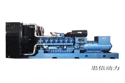 海南发电机组厂家案例