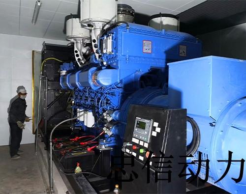 海南发电机组工地工程案例